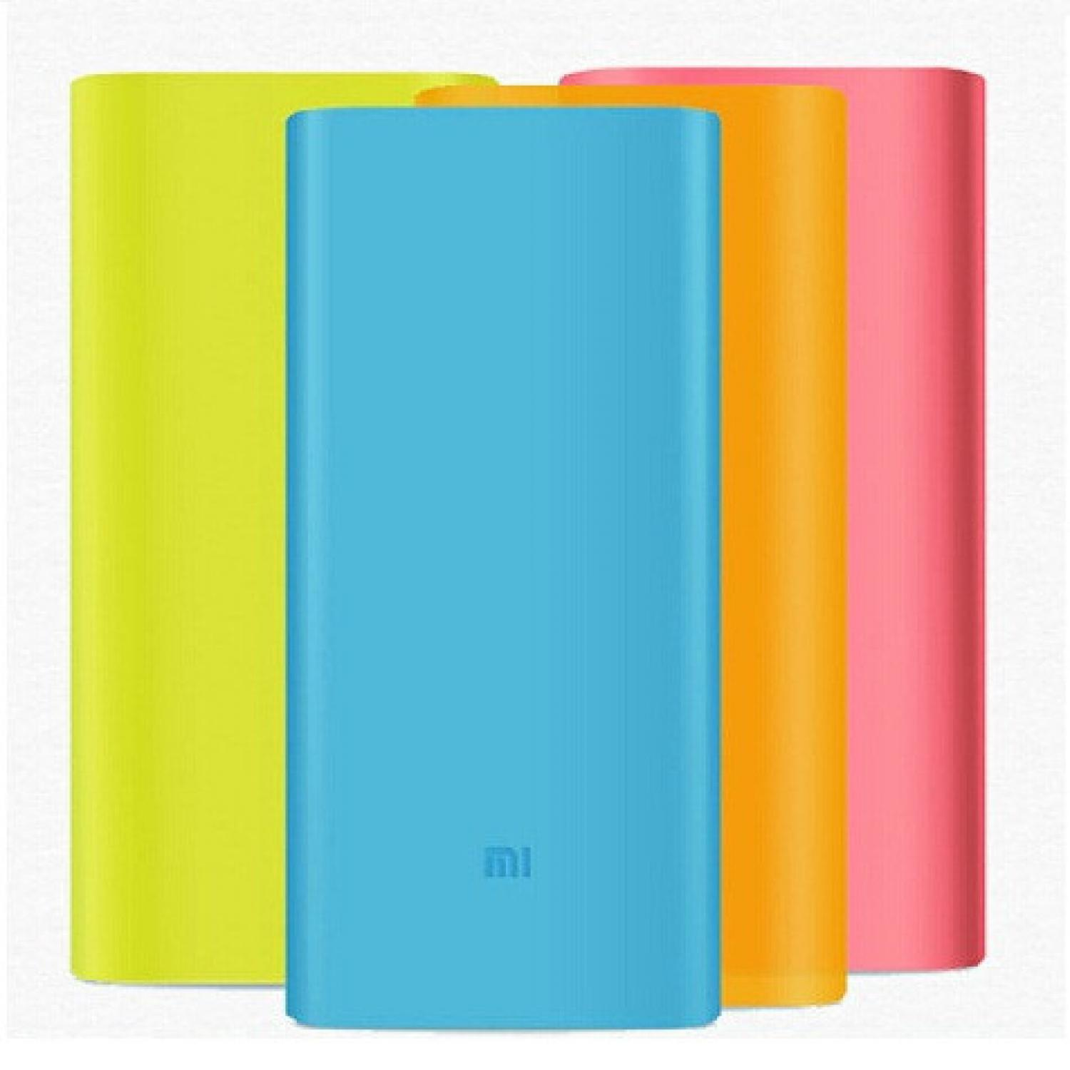 Best Seller!!! Silicon Case Cover for Xiaomi Power Bank (OEM) Terbaik Murah