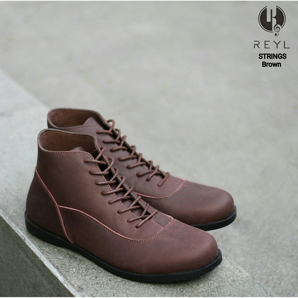 Jual Sepatu Tracking  Kulit Pria Boots   Slip On/Loafers/Oxford Shoes/Leather Boots Original Premium