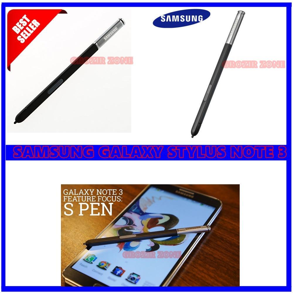 Samsung Stylus Pen Stylus S Pen untuk Samsung Galaxy Note 3 / N9000 Hitam - Original ( Grozir Zone )