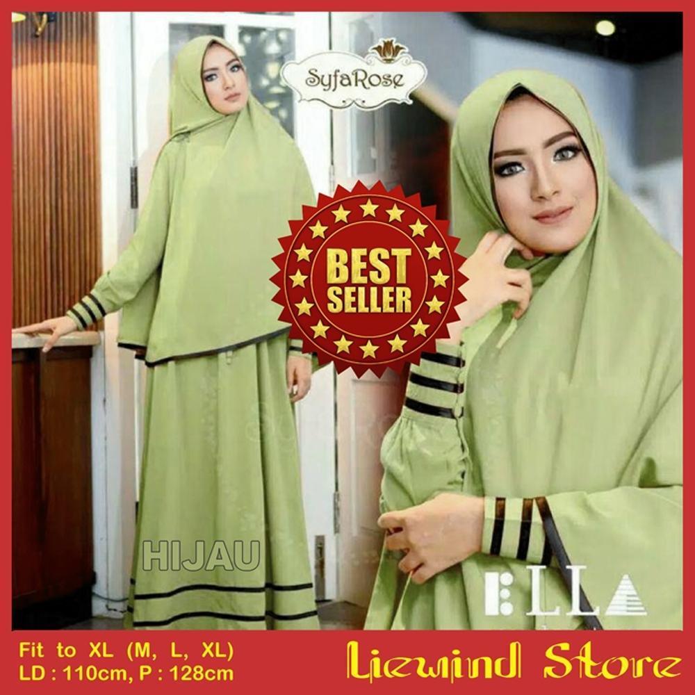Gamis Maxi Syfa Syari Kualitas Premium - Gaun Pesta - Shopping Dress - Belanja Baju Online - Toko Baju Online - Grosir Baju Muslim