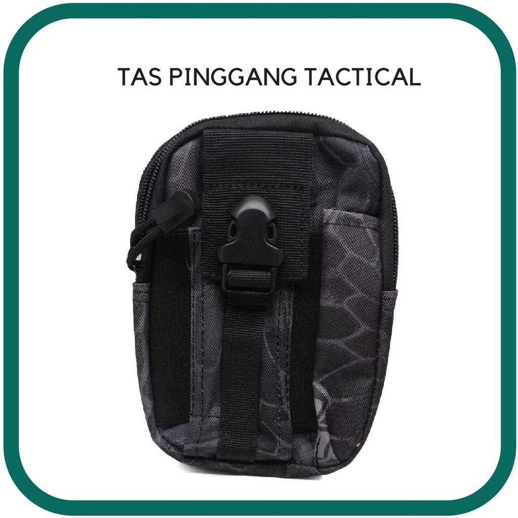 Cek Harga Baru Quincy Army Military Bag Tactical Backpack Camping Tas Pinggang A318 Outdoor Hiking Hitam