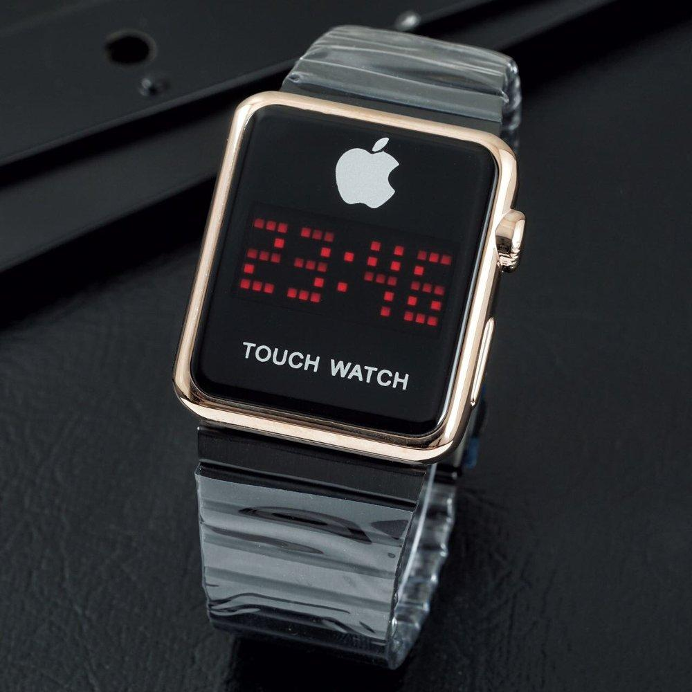 Iphone Jam Tangan Pria Smart Watch Touch Screen Stainless Steel Limited Edition