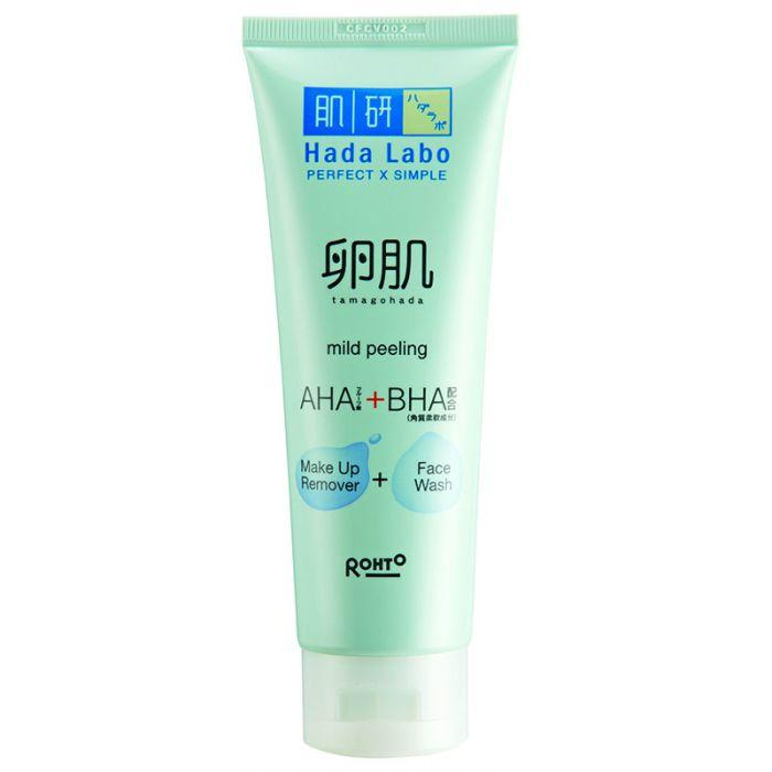 Facial Care Hada Labo Tamagohada Face Wash Make Up Remover 100gr  - Ter Murah