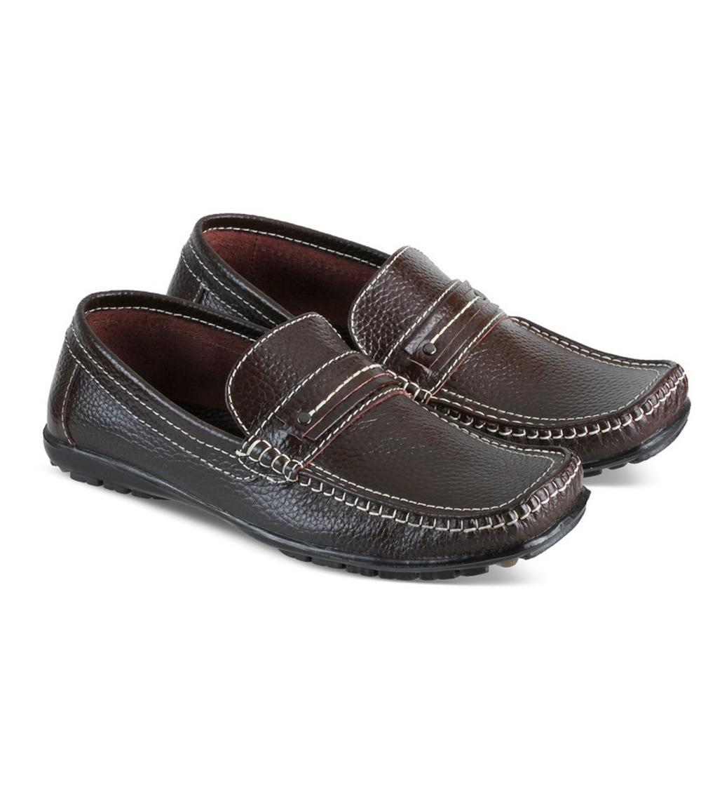 Promo sepatu kulit pria pansus pria pantofel kulit jk collection JAR 0169 Fashion