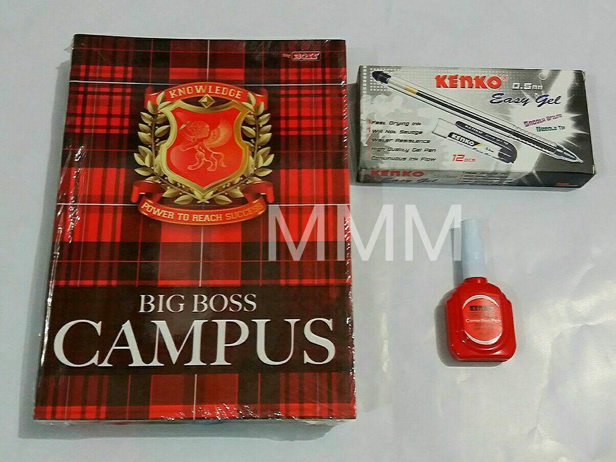 Buy Sell Cheapest Big Boss Buku Best Quality Product Deals Tulis Isi 6pcs Bigboss42 Mmm Boxy 36 1pak 10