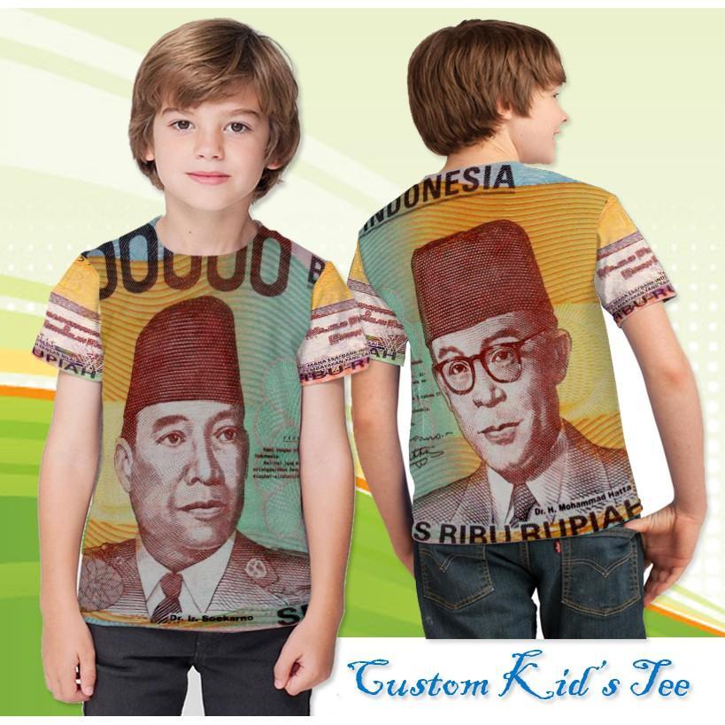 Baju Anak Uang Seratus Ribu Jadul Design Gokil