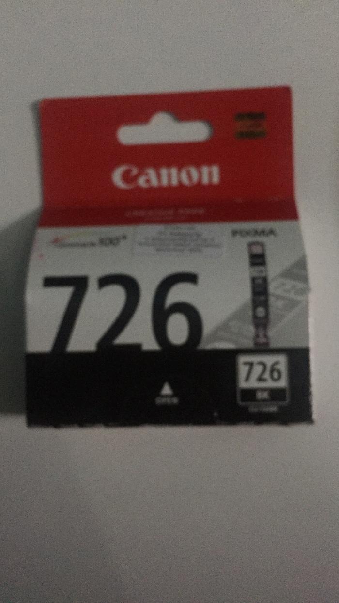 Tinta canon 726 black Ori ginalan - RiVxEY