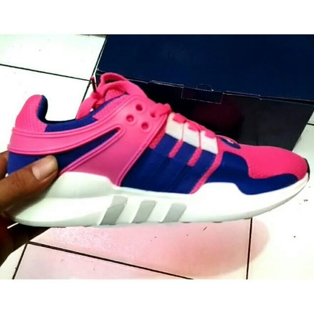 PROMO !!! Adidas Eqt Support Adv Kw / Sepatu Olahraga Wanita / Cewe Import Murah Size 36 - 40