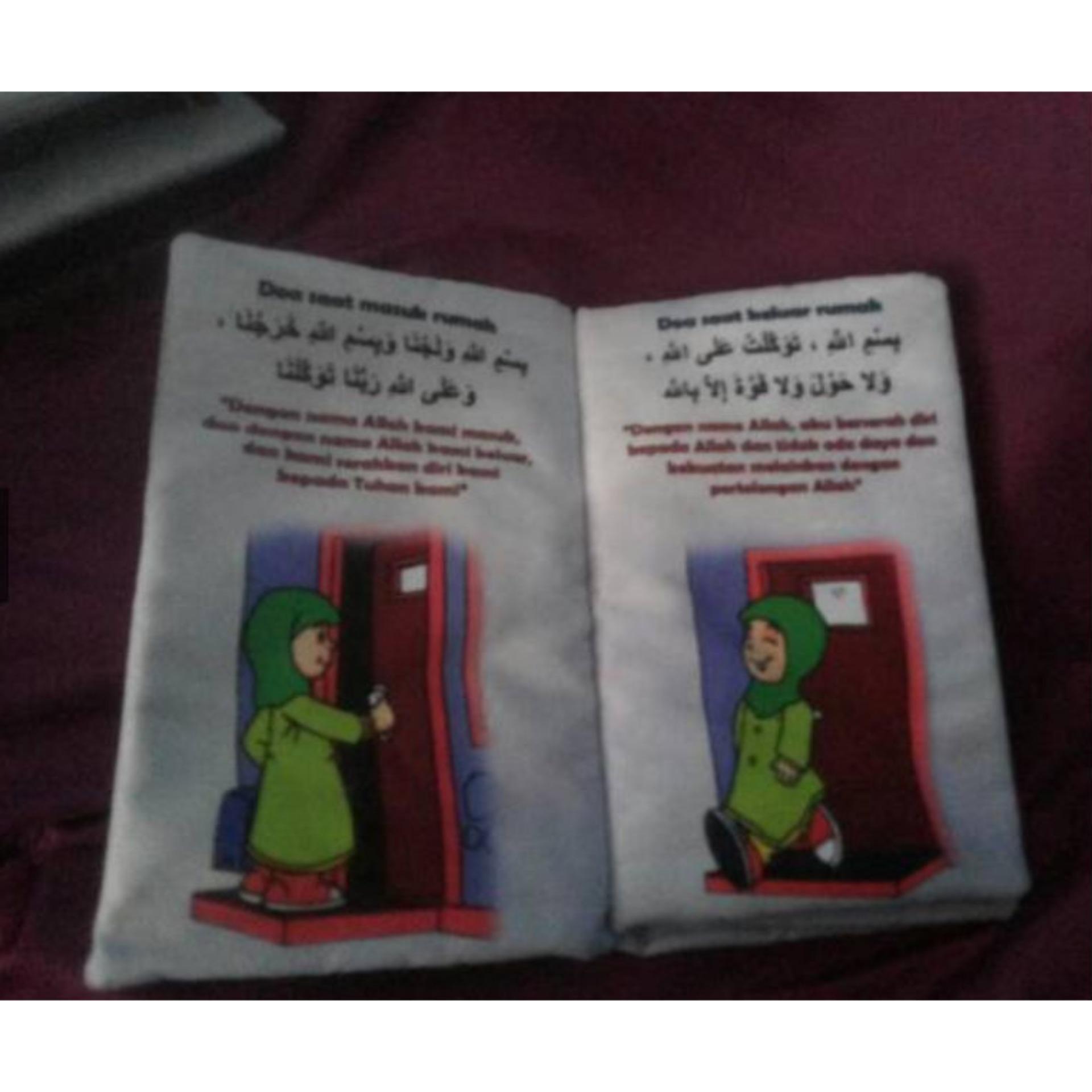 Fitur Doa Anak Muslim Buku Bantal Mainan Bayi Edukasi Edukatif Binatang Apakah Aku Detail Gambar Terbaru