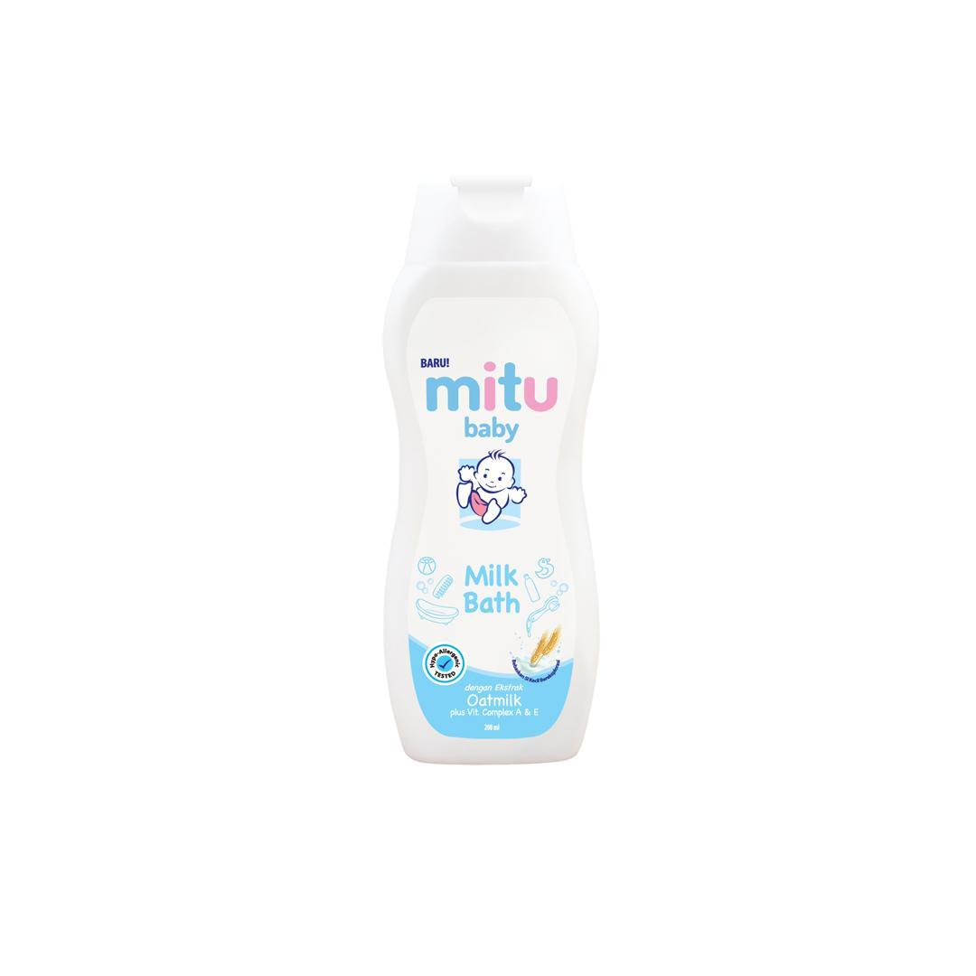 Kelebihan Mitu Baby Oil Bottle 100ml Terkini Daftar Harga Dan Cussons Soft And Smooth 100 Liquid Soap Milkbath 200ml