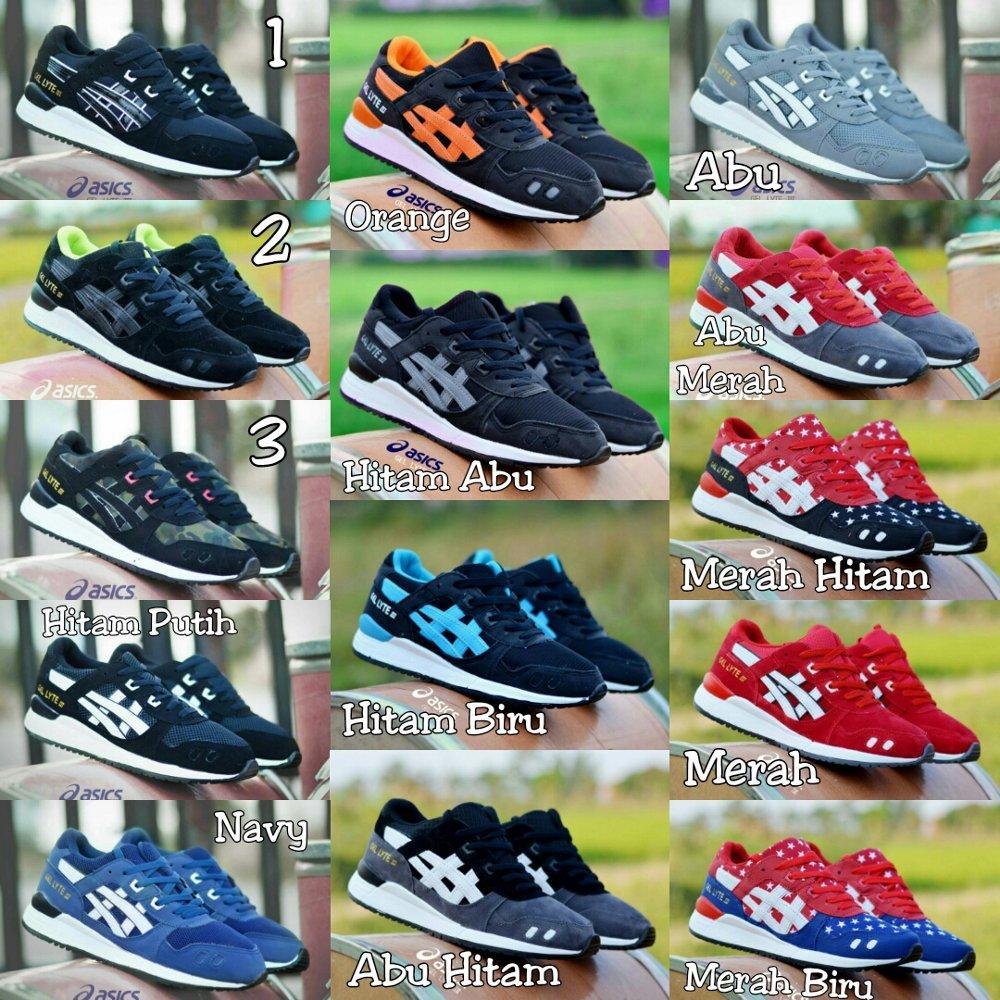 Promo Sepatu Sneakers Asics Gel Lyte 3 Murah - Olahraga - Lari - Joging - Santai - Casual Diskon