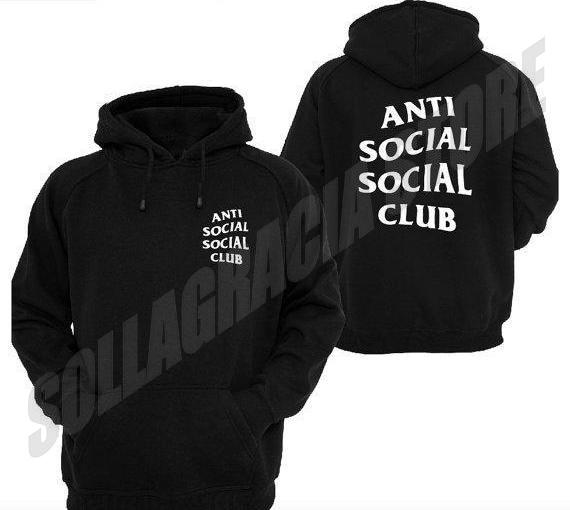 JAKET HOODIE SWEATER ANTI SOCIAL SOCIAL CLUB