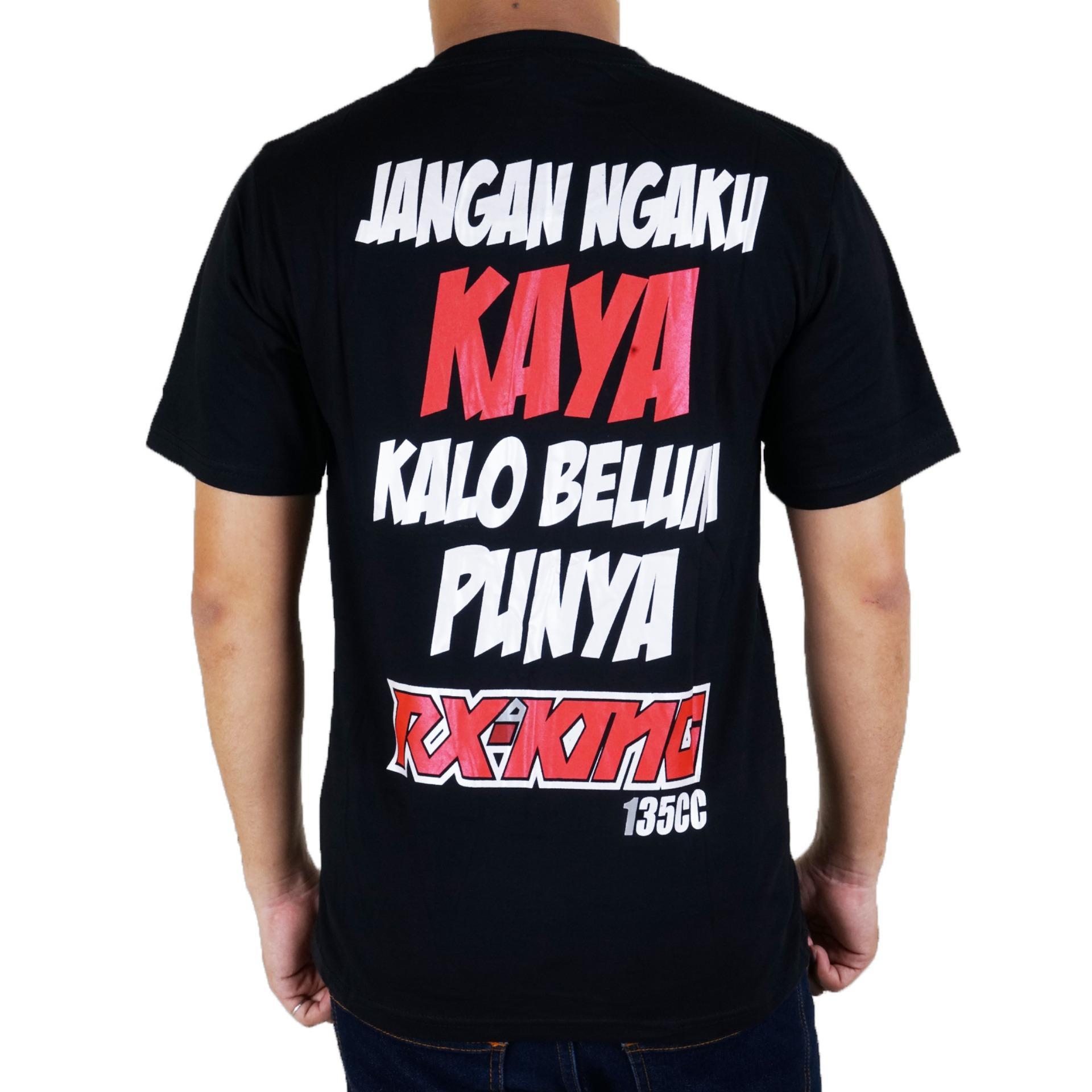 Detail Gambar Vanwin - Kaos T-Shirt Distro / kaos Pria / Tshirt Pria / Distro Pria / Baju Pria Premium Racing RX King Fighting - Hitam Terbaru