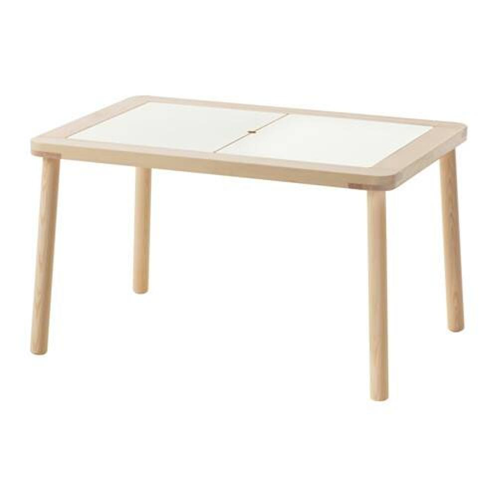 IKEA FLISAT Meja Anak 83x58 cm - kayu solid