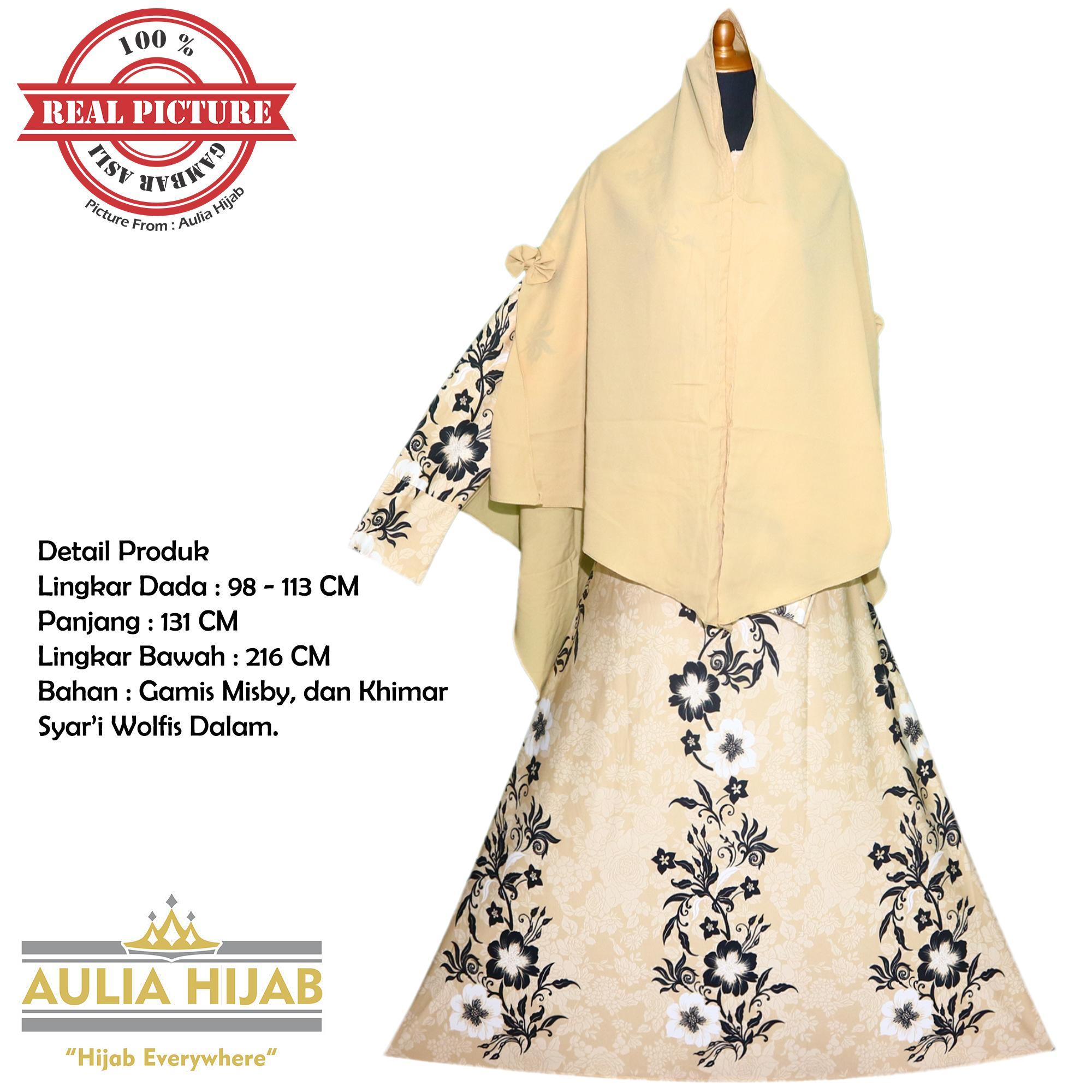 Aulia Hijab - New Queen Syar'i INCLUDE KHIMAR/Gamis Syar'i/Gamis Misby/Gamis Wolfis/Gamis Laser/Gamis Murah/Gamis Terbaru/Gamis Jilbab/Gamis Plus Jilbab/Gamis Jilbab Panjang/Gamis Plus Khimar/Gamis Pesta/Gamis Cantik
