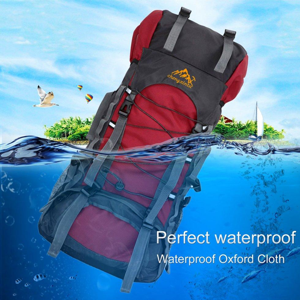 60l Outdoor Hiking Sports Backpack Internal Frame Hiking Camping Trekking Waterproof Shoulder Bags By Giftforyou.