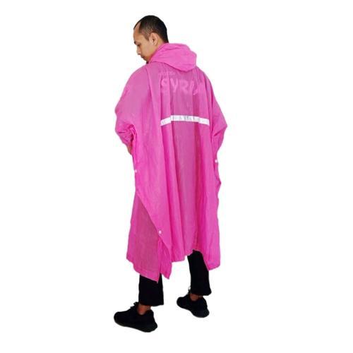 Jas Hujan Murah PT Mantora Pink M0009 BdR - MURAH