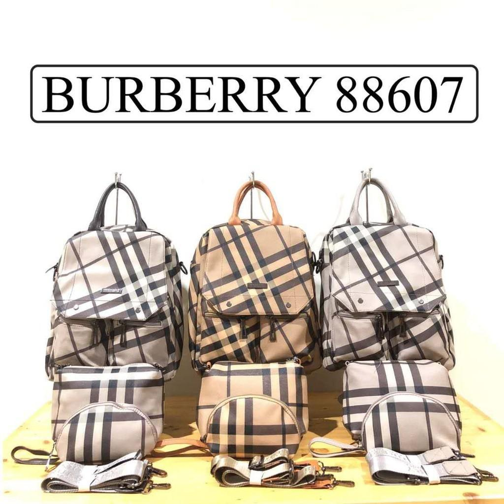 TAS BURBERRY SUPER SET RANSEL/ MULTIGUNGSI 88607