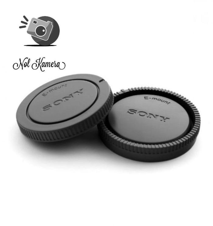 Body cap + rear cap Sony Nex A6000 A6300 Nex3 Nex5 Nex6 Nex7