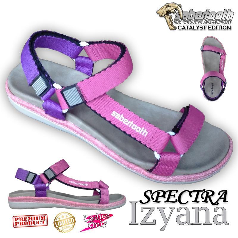 Sabertooth Sandal Gunung / Travelling / Traventure Spectra Izyana Size 36 s/d 40