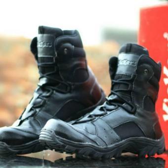 Shock Price Sepatu Boots Delta Kickers Safety Tracking Adventure Proyek Lapangan Pdl Pdh Satpam Aparat Dinas Pns best price - Hanya Rp210.211