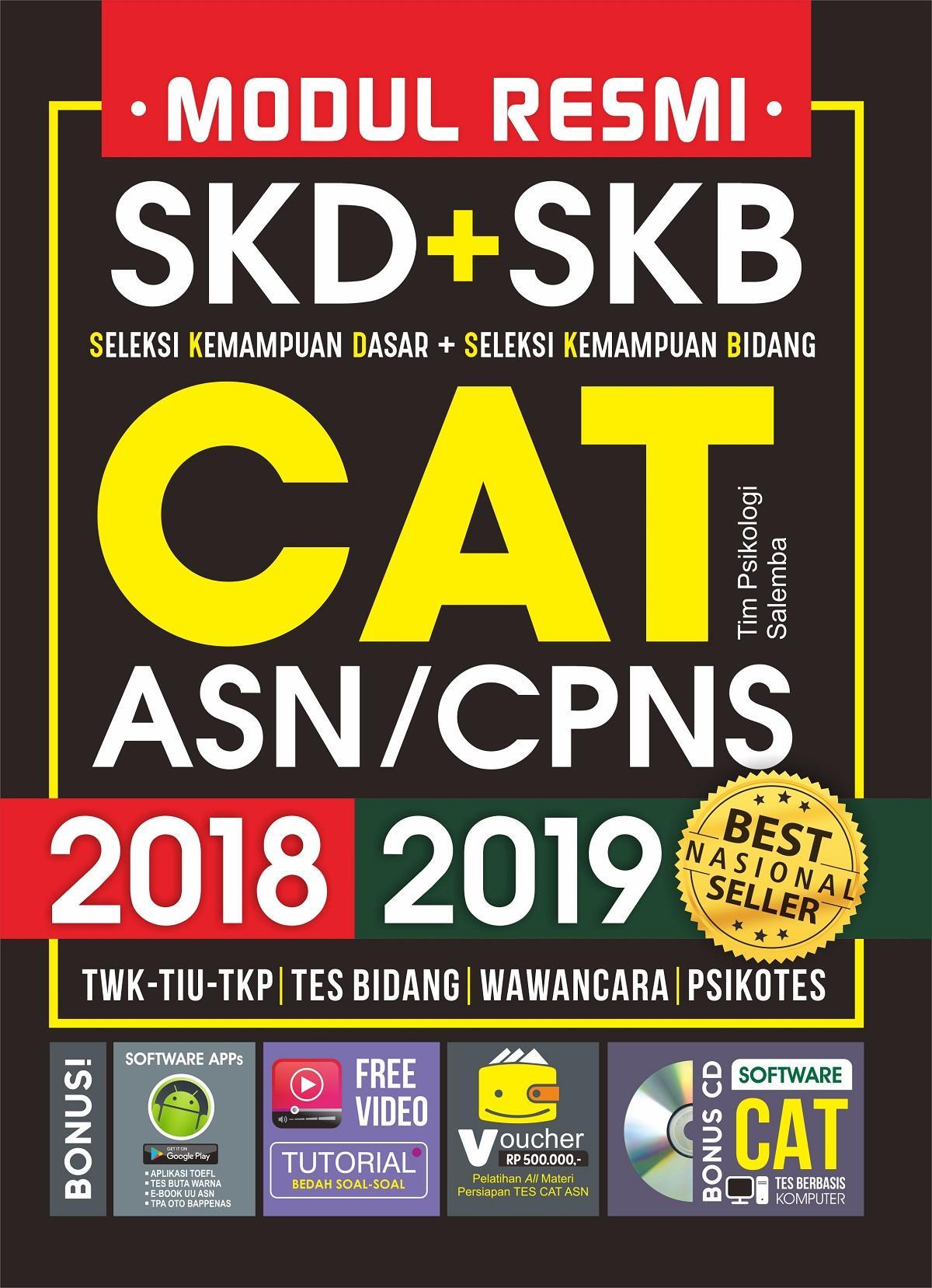 MODUL RESMI SKD+SKB CAT ASN/CPNS