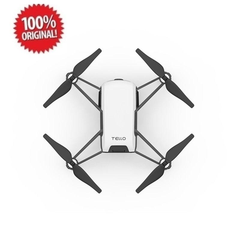 DJI Tello Drone With 5MP HD Wifi Camera FPV Quadcopter  - Hitam/Putih