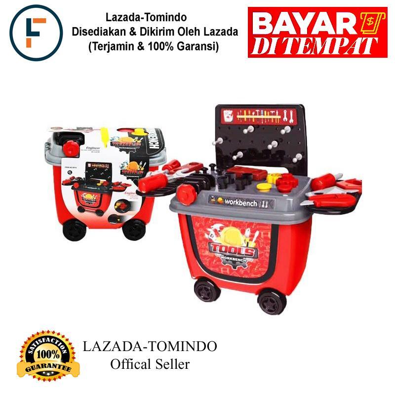 Tomindo Mainan Anak Tool Workbench 8014 / Mainan Alat Tukang / Mainan Alat Konstruksi / Mainan Anak Laki By Tomindo.