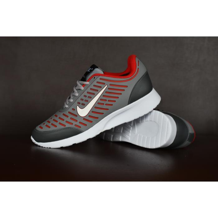 Gambar Produk Sepatu Sport Nike Airmax Tiger Abu Abu Merah Running Olahraga  Pria Lengkap ddd3291f51