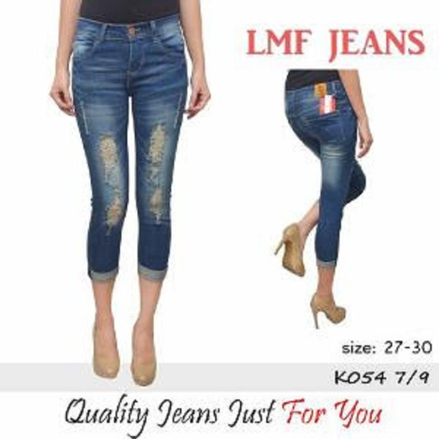 ADB - Jeans 7/9 sobek stik balik -  ripped