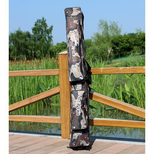 Sougayilang Tas Pancing Portable Rod Fishing Bag 120CM - Camouflage