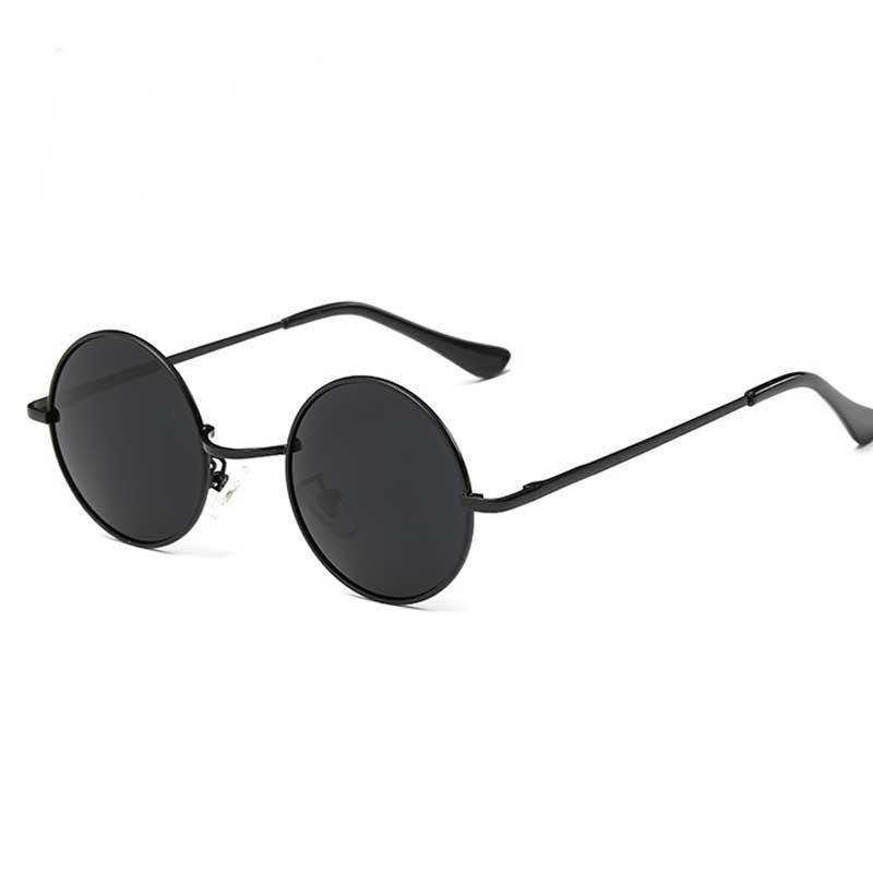 b8537a7378 New New Classic Polarized Round Sunglasses Men Small Vintage Retro Mirror  John Lennon Glasses Women Driving