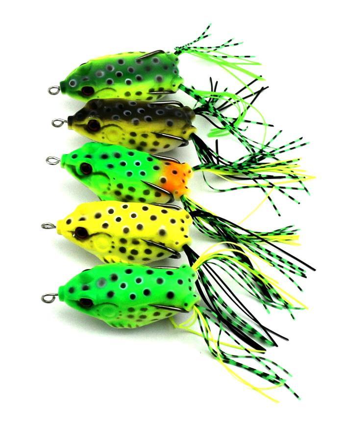 Lure Frog Umpan pancing kodok frog gabus Soft Lure Rubber minnow fish - xAlIsl