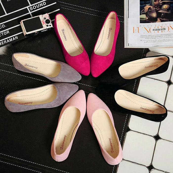 Rp 42.900. Sepatu wanita sneakers/Sepatu wanita flat/Sepatu ...