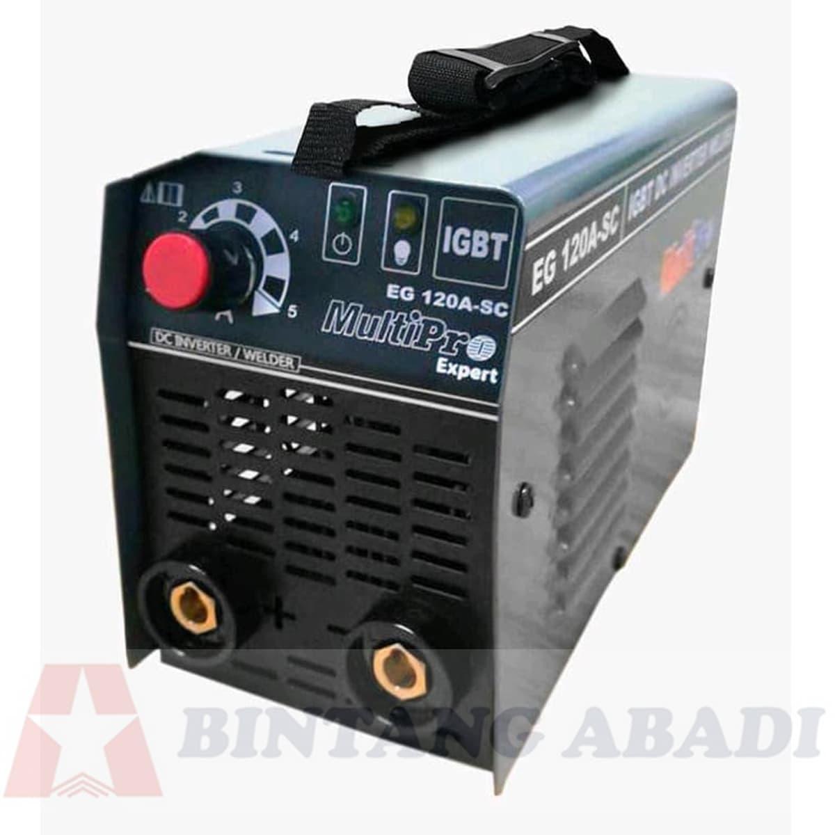 Termurah MultiPro IGBT Welding Inverter 120 Ampere 450 Watt (40 A) - EG120 A-SC Harga Grosir