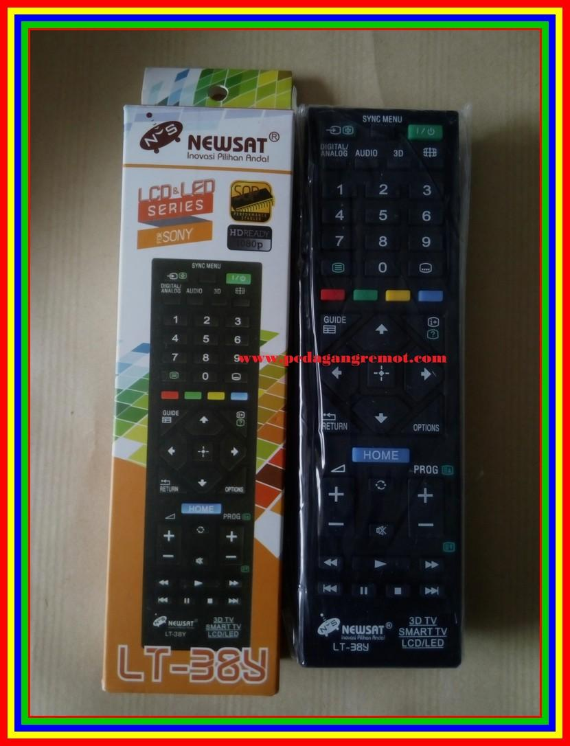 Detail Gambar Remot Remote TV Sony LCD LED Multi Universal Terbaru