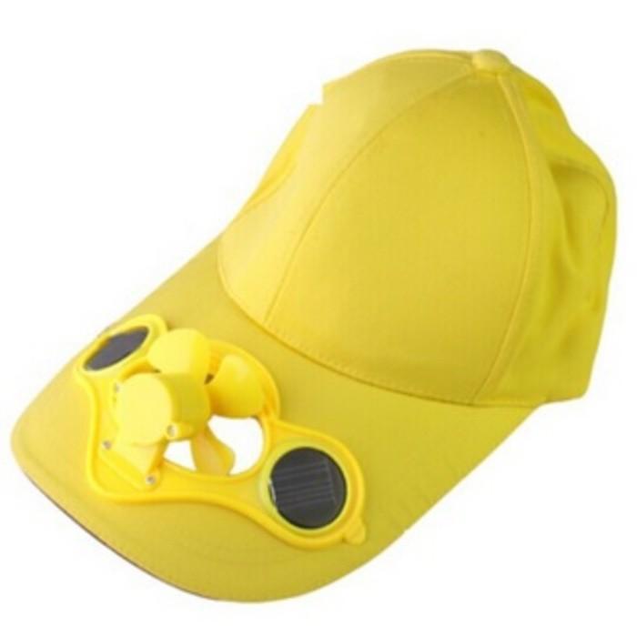 Best Seller Sun Hat With Solar Power Fan Topi Dengan Kipas Angin Tenaga Matahari Termurah Dan