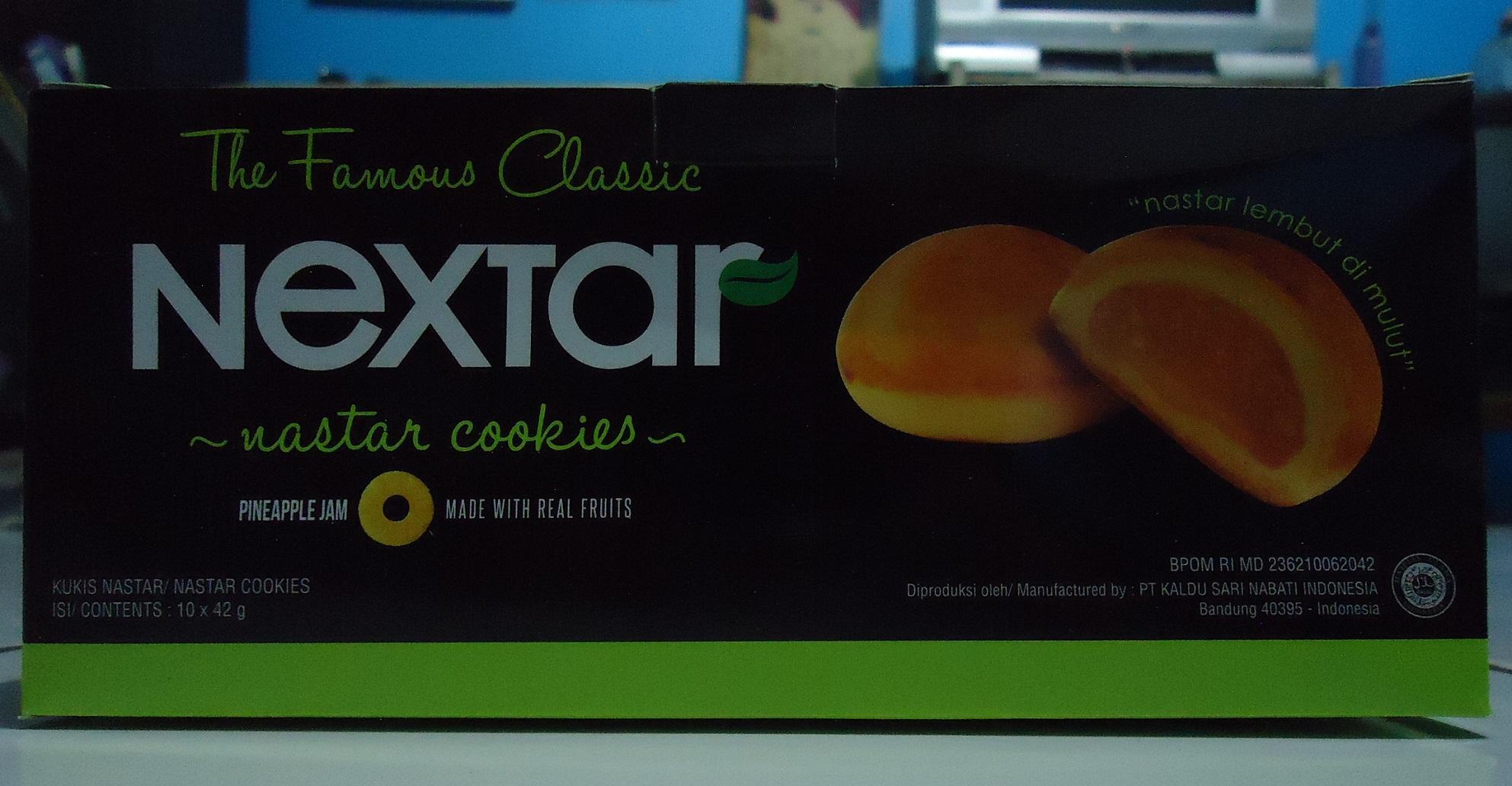 Nabati Nextar Nastar Cookies 2 Kotak Update Harga Terkini Dan Nanas Pineapple Jam Atau Brownies Cokelat 42g Isi Nanasidr17500 Rp 17800