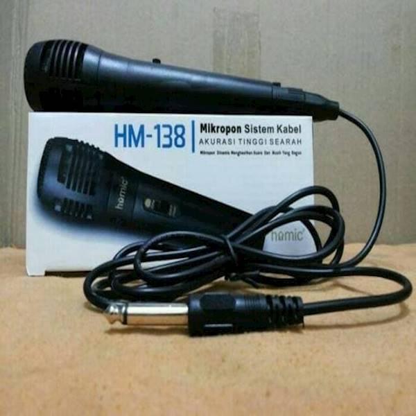 Best Seller HOMIC Mic Karaoke Micropon Mix KabelIDR28000