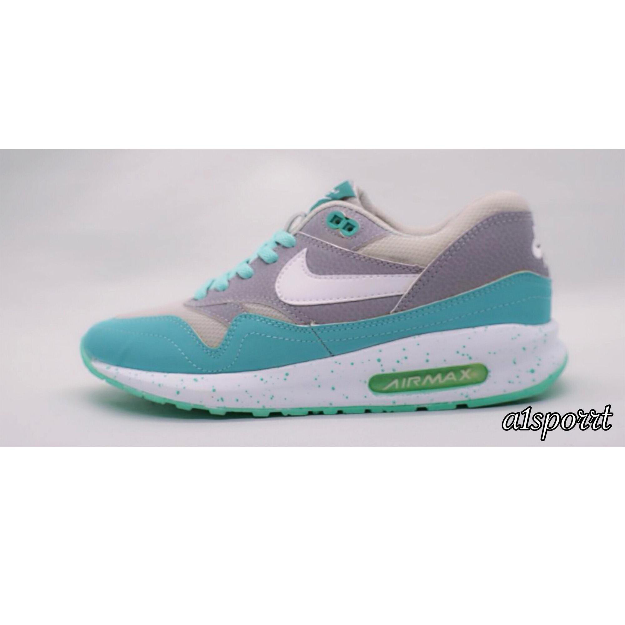 Nike Airmax Kualitas Premium Abu Hijau List Putih