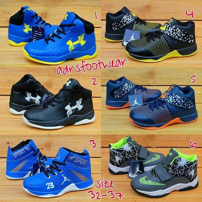 Promo Nike Air Jordan kids sepatu basket anak premium