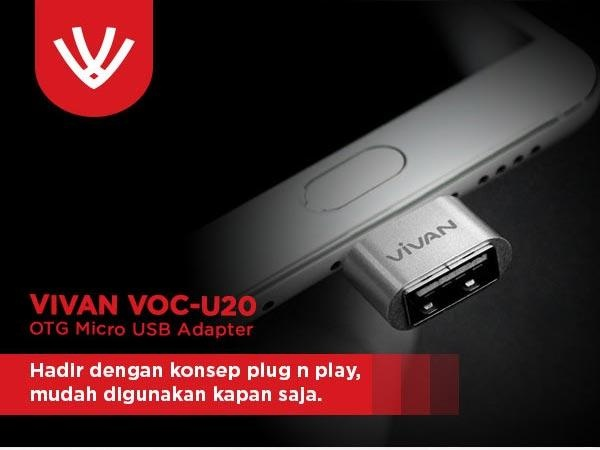 ViVAN VOC-U20 OTG Micro USB Cable with Data Cable