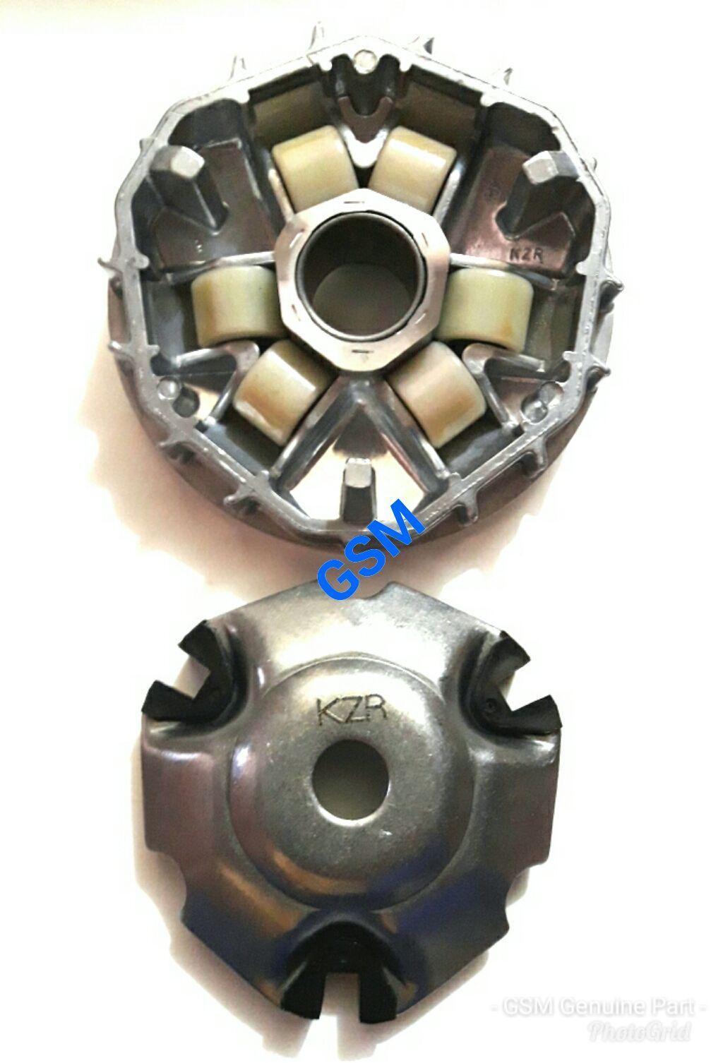 Jual Aksesoris Mobil Motor Honda New Vario 125 Esp Cbs Titanium Black Solo Rumah Roller Set Komplit