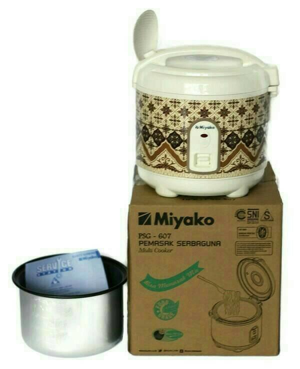 rice cooker mini miyako psg 607 - rice cooker kecil murah