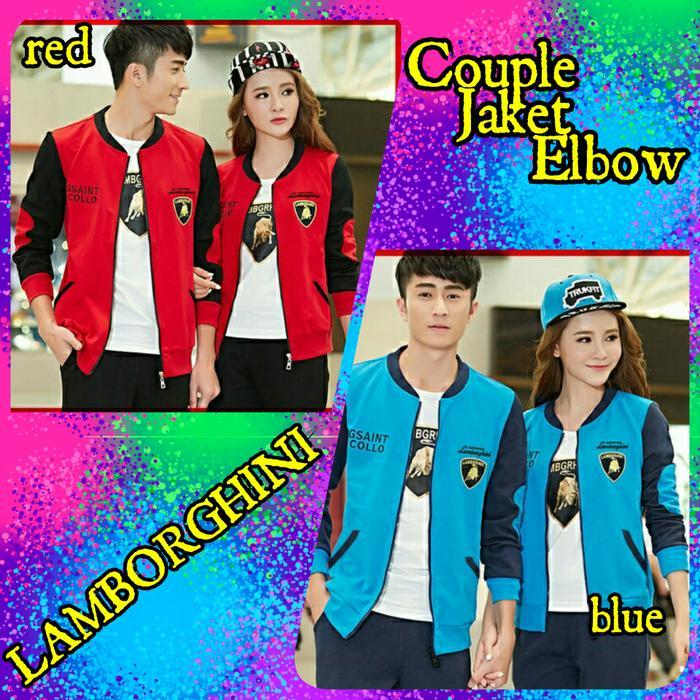 Couple Jaket Elbow Lamborg