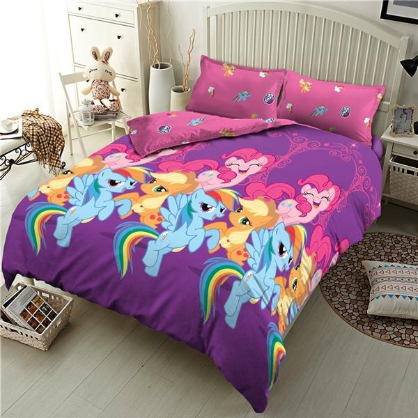 Paling Murah - Kintakun Dluxe Sprei Single 120x200 cm - Classic Little Pony