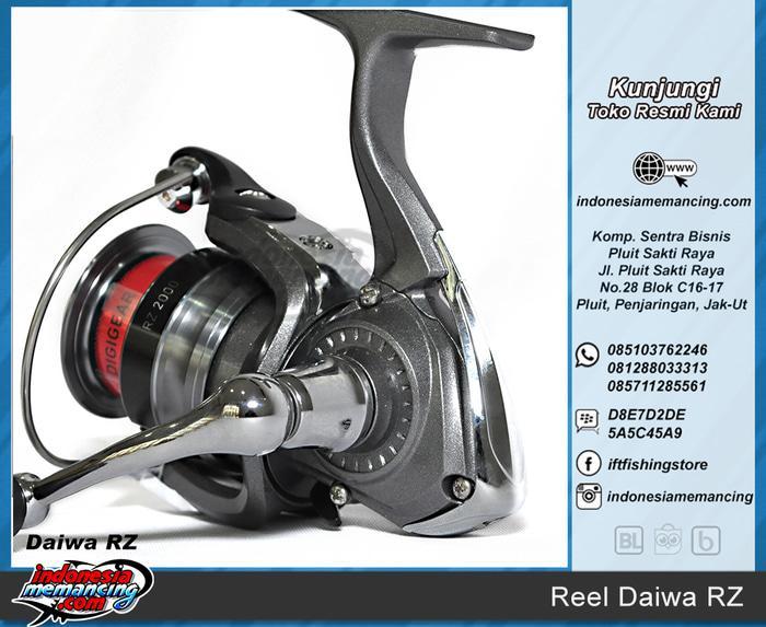 Reel Spinning DAIWA RZ Size 2500 (utk Mancing Kolam/Casting) - 51rYAA
