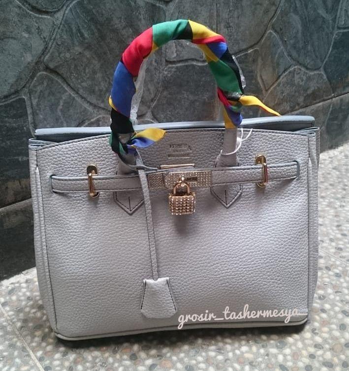 tas wanita fashion import hermes birkin togo- abu