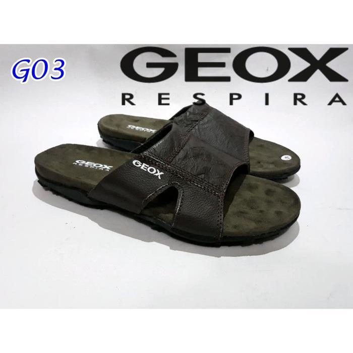 PROMO bagus asli nyaman Sandal Geox Respira/Sandal Pria Geox Respira/Sandal TERLARIS