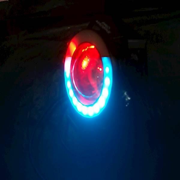 Lampu Tembak Sorot U7 NEW Transformers SOROT AE DE 7 Warna 4 Mode 30W